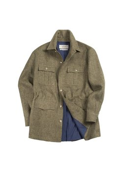 AmFeast - SS20 Linen Safari Jacket (Size 46/Small)