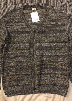 Camoshita Cotton/Silk Color Gradient Cardigan NWT RRP $520
