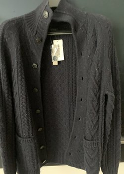 NWT JCrew Cable-Knit Cardigan