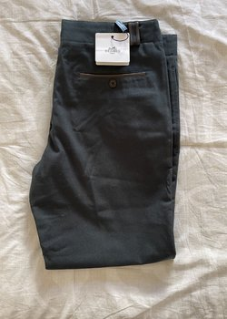 Price Drop $990 Hermes Green Cotton Casual Pants