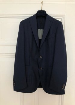 Boglioli - Dover jacket - Dark Navy blue 46 BNWT