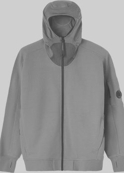 SOLD❗️CP Company Full-Zip Lens Hoodie Diagonal Raised Fleece M