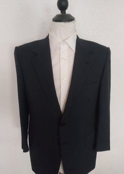 Flawless Brioni Traiano Suit Blue Check EU 50S US40S RRP: $ 4990