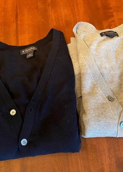 Brooks Brothers Merino Cardigans