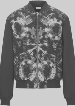 Dries Van Noten Quilted Tie-Dye Bomber Jacket M-L