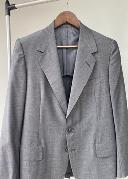 Oxxford Gray Jacket Patrician Preference cloth
