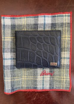 NWT Brioni  Wallet Blow Out!
