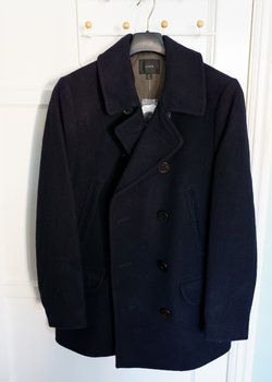 J.Crew Dock Peacoat with Thinsulate - Dark Navy - Multiple Sizes