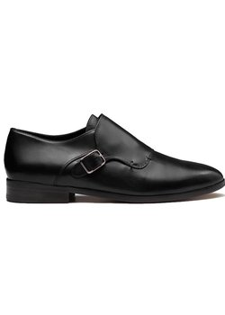 CB MADE IN ITALY Single Monk Strap Loafer Black EU41/US7.5-8
