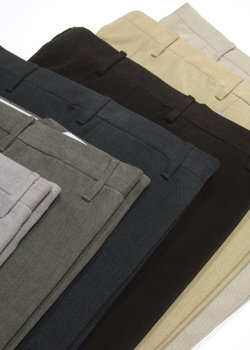 BNWT ROTA Pantaloni Cotton Twill Flat Front Pants - 6 Colors Size from 50 to 58 - LAST PAIR