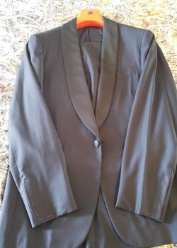 CRAZY REDUCED NWT ISAIA UBERLUX SUPER 160 NAVY TUXEDO SHAWL 40R