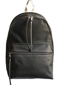 SOLD❗️RICK OWENS DRKSHDW Backpack Rubberized Cotton Black/Natural