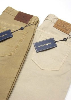 N°4 pairs of BNWT Polo Ralph Lauren by INCOTEX Slim Cotton Jeans - Lt. Beige & Khaki - Size 30/31/32