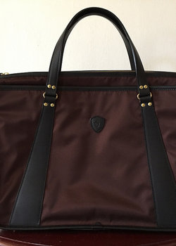 Price Drop: FELISI LEATHER TRIMMED BRIEFCASE NWT $380
