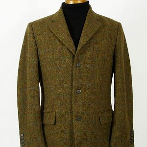 Harris Tweed sports coat.