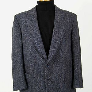 Harris Tweed jacket with patch pockets.