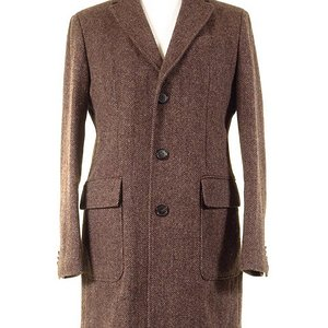 Barutti Harris Tweed Overcoat