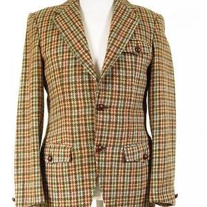 Harris Tweed Half Norfolk Jacket