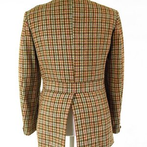 Half Norfolk Tweed Jacket
