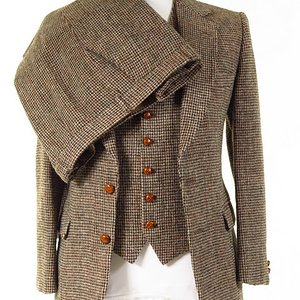 Vintage Harris Tweed 3 PIECE Suit