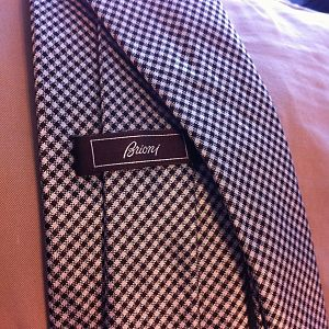Brioni Houndstooth