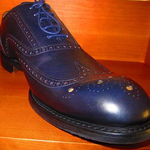 These are the brogues I picked up.