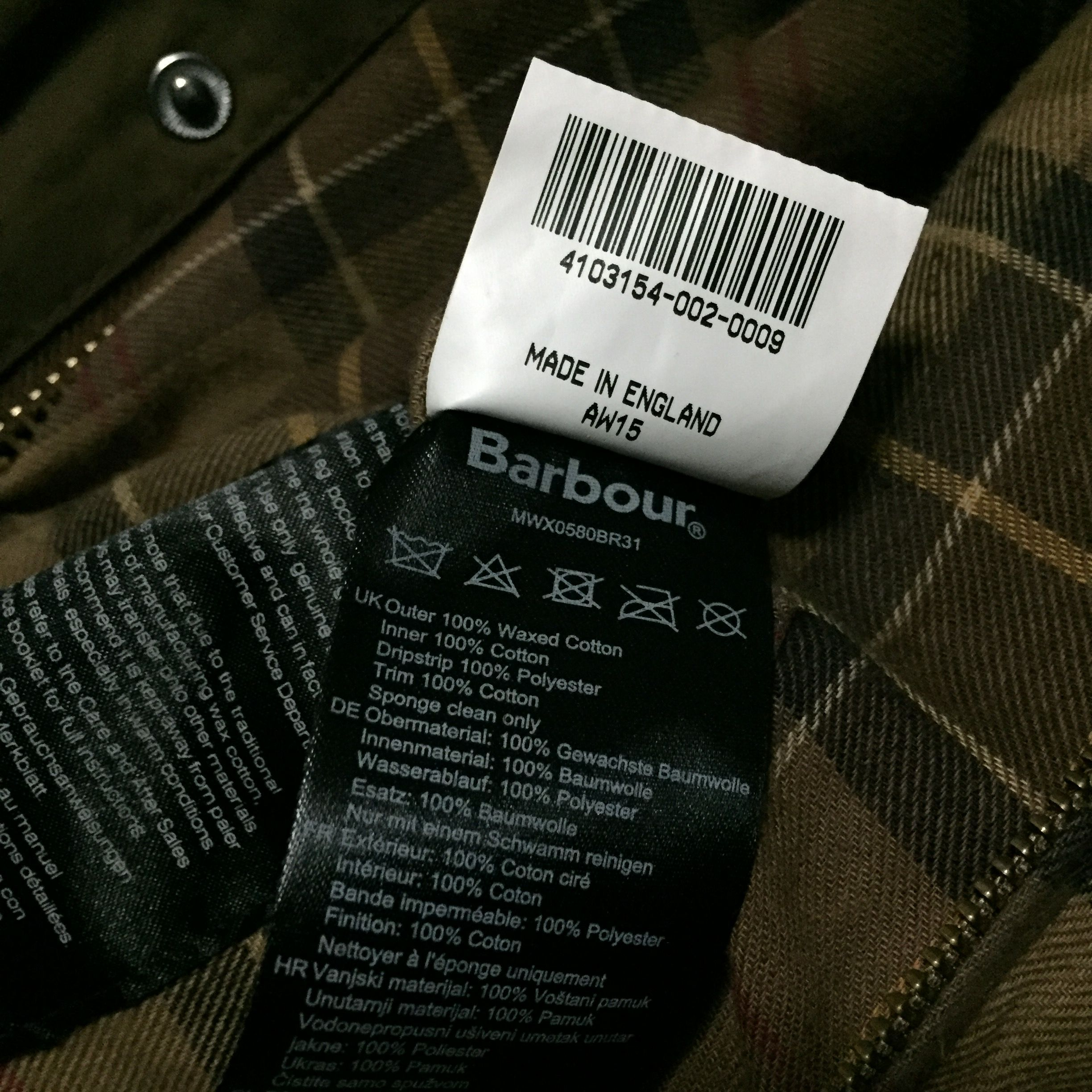 badeggcat's photos in Offical Barbour Thread