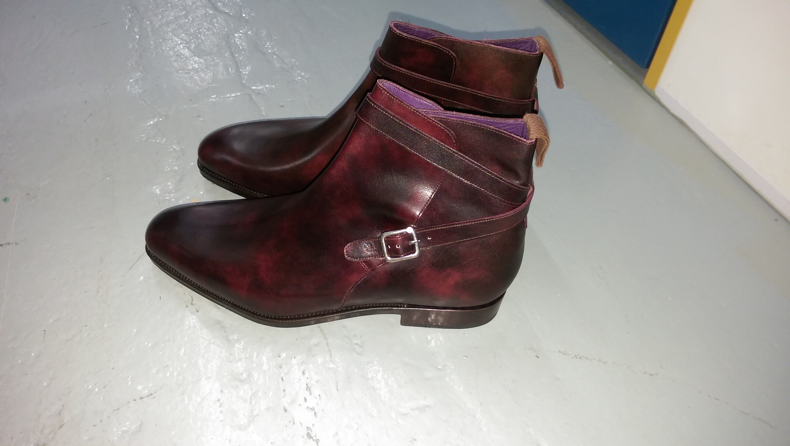 member2000r's photos in Carmina Plum Museum Jodphur Boots Rain Last UK8.5EE