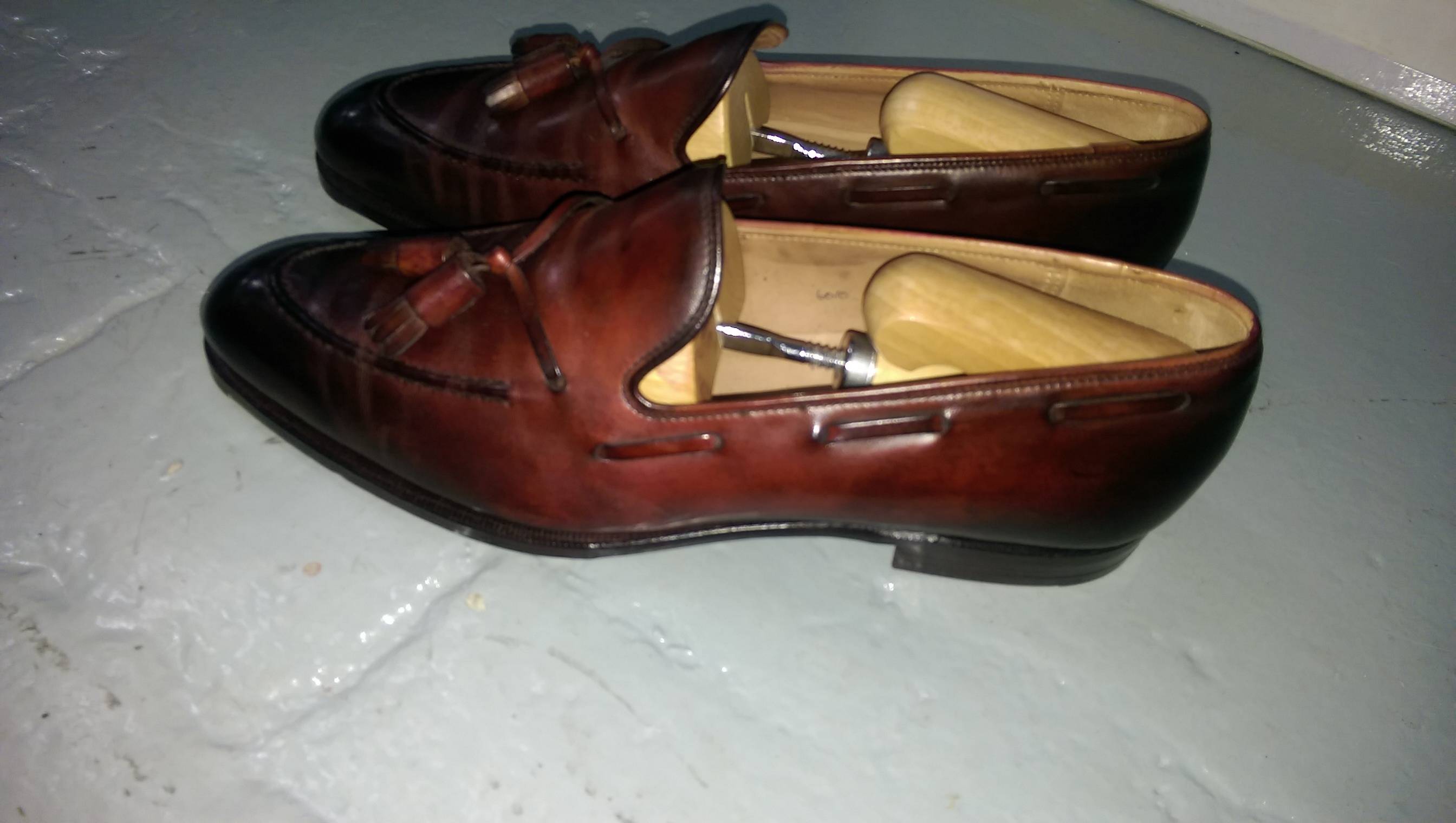 member2000r's photos in George Cleverley Hand Burnished Adrian Tassel Loafers UK9