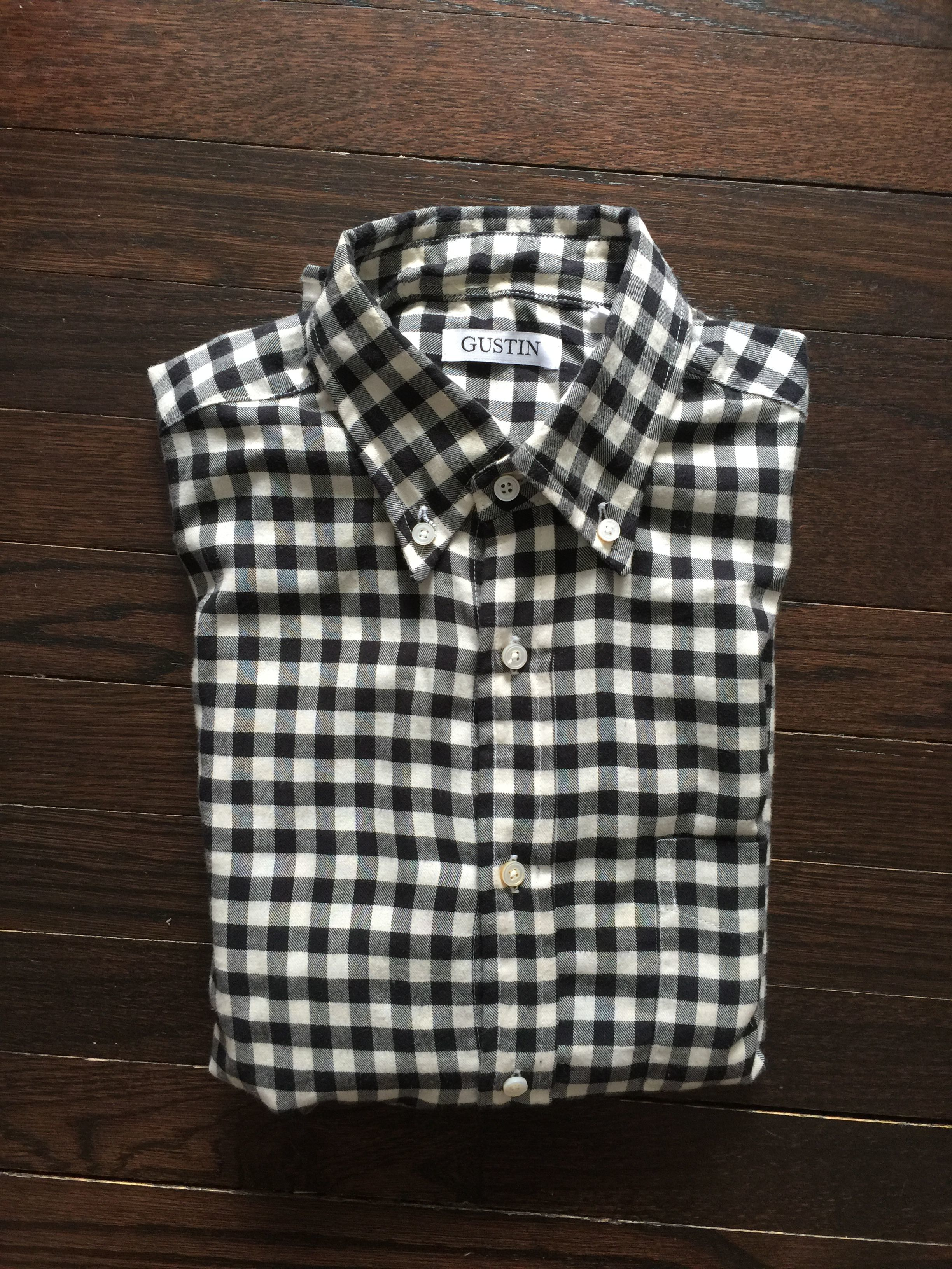 JR Magat's photos in Gustin button-down shirt sale: plaids, ginghams, checks - size Classic Small