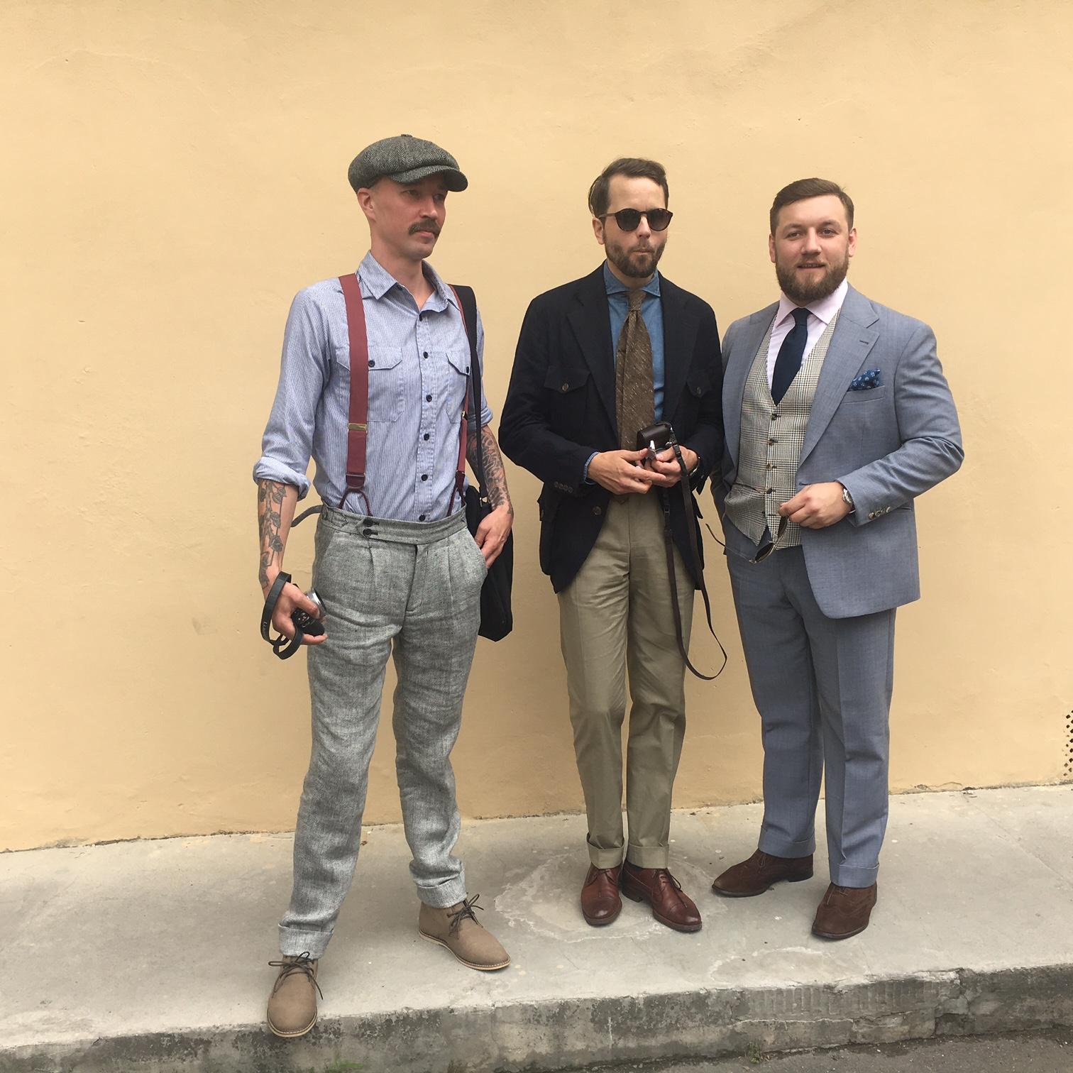 Tom Miler's photos in Pitti Uomo 90 - Day 3
