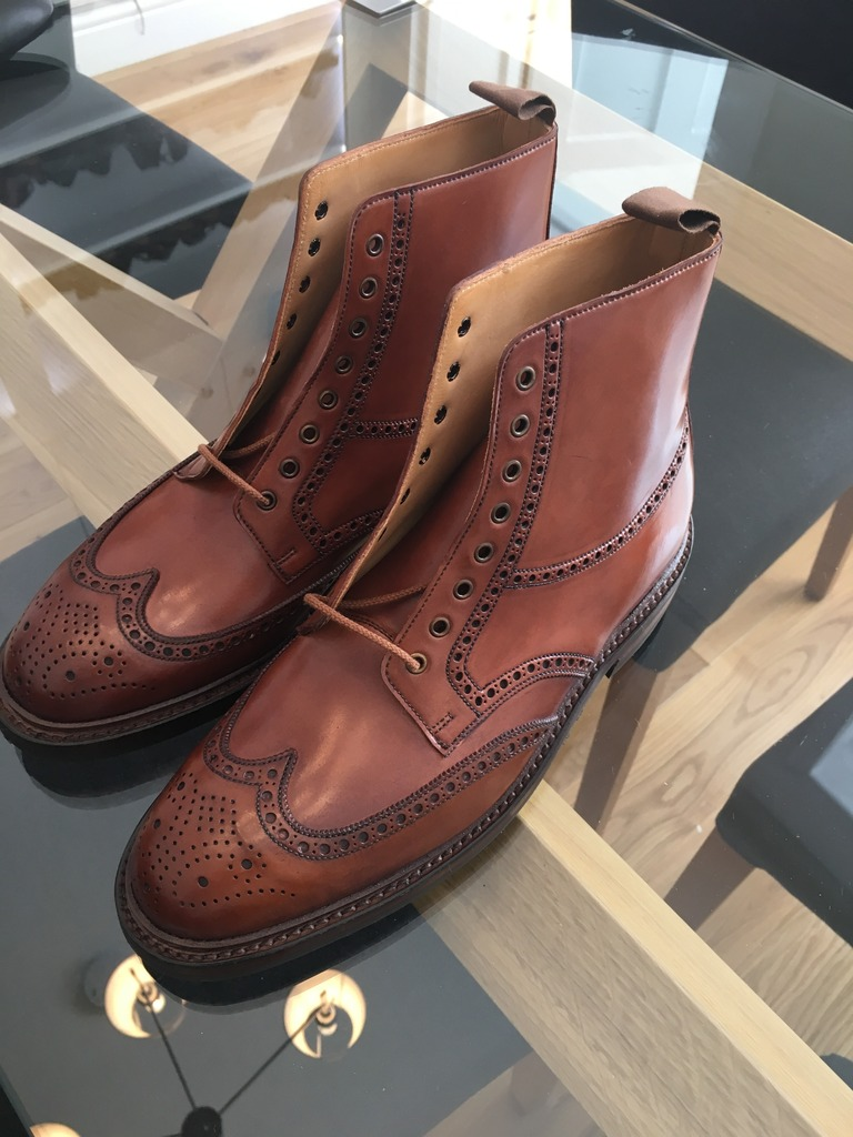 Akeem's photos in Crockett & Jones Modified Brown Cordovan Harlech MTO