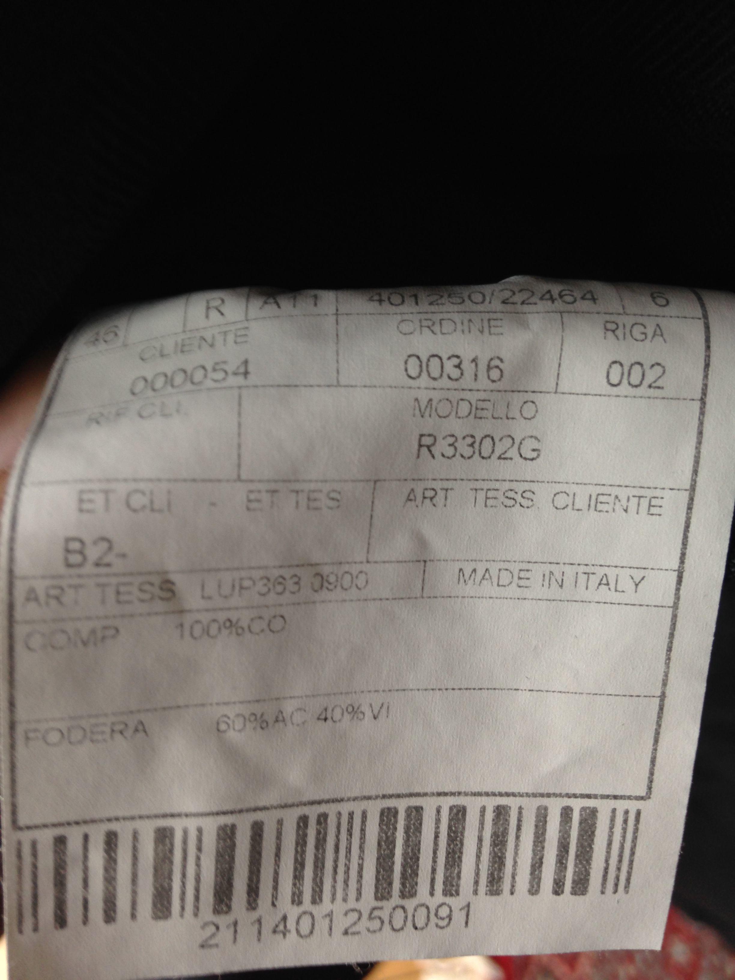 BOGLIOLI BNWT Navy Cotton Sportcoat in Size 36(US)/46(IT) - Line COAT