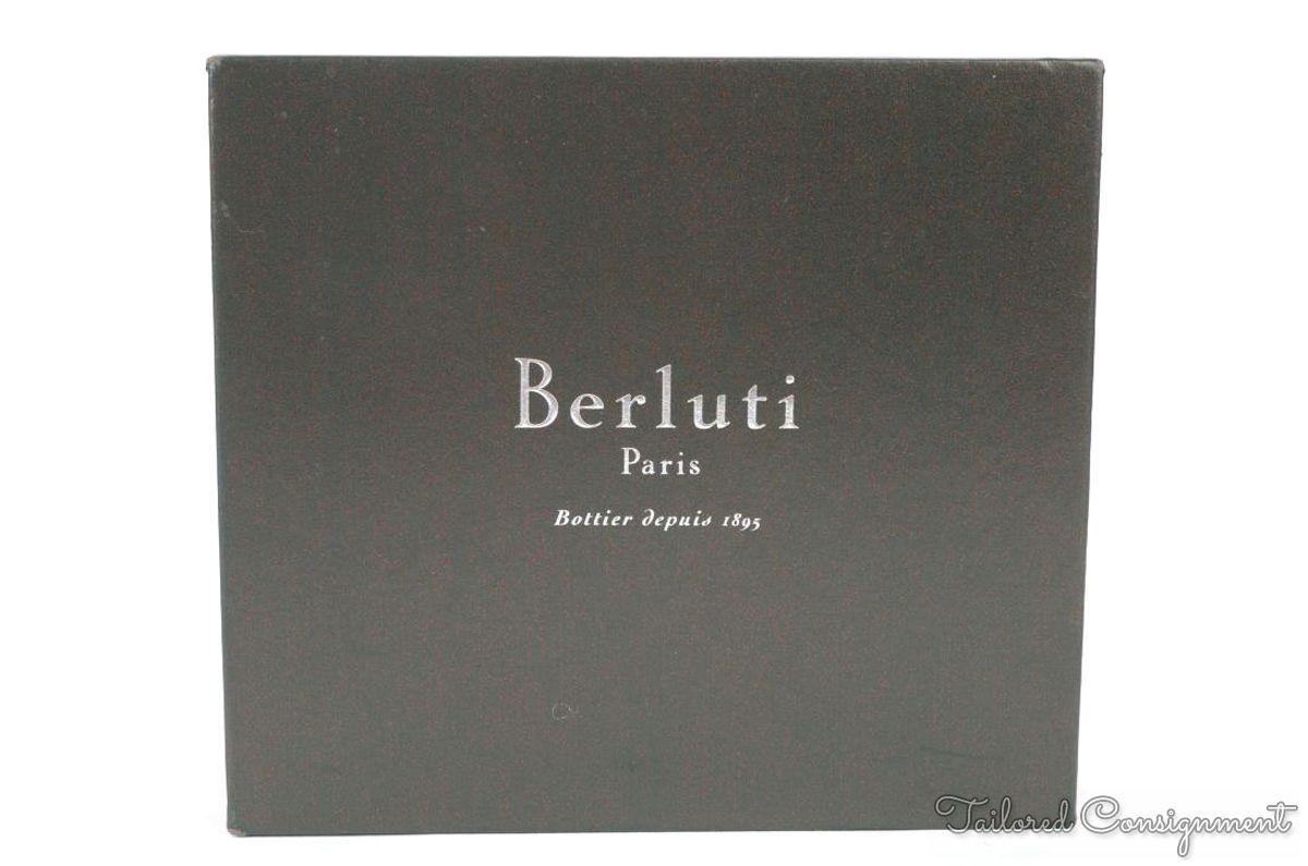 "Brianpore's photos in BERLUTI Brown Tan Bi-Fold Leathe Wallet w/ Bag and Box - 4.375"" x 3.75"""
