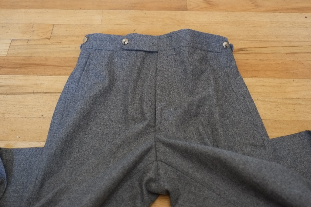 heldentenor's photos in Panta Grey Flannels--Brand New Size 30