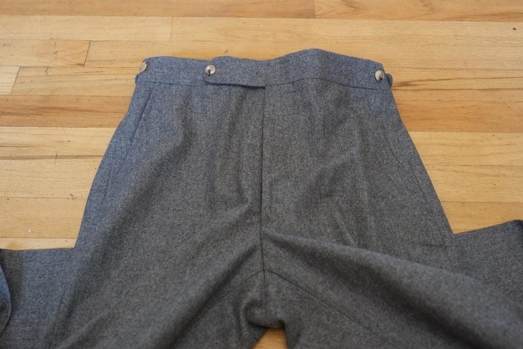heldentenor's photos in Panta Grey Flannels--Brand New Size 30
