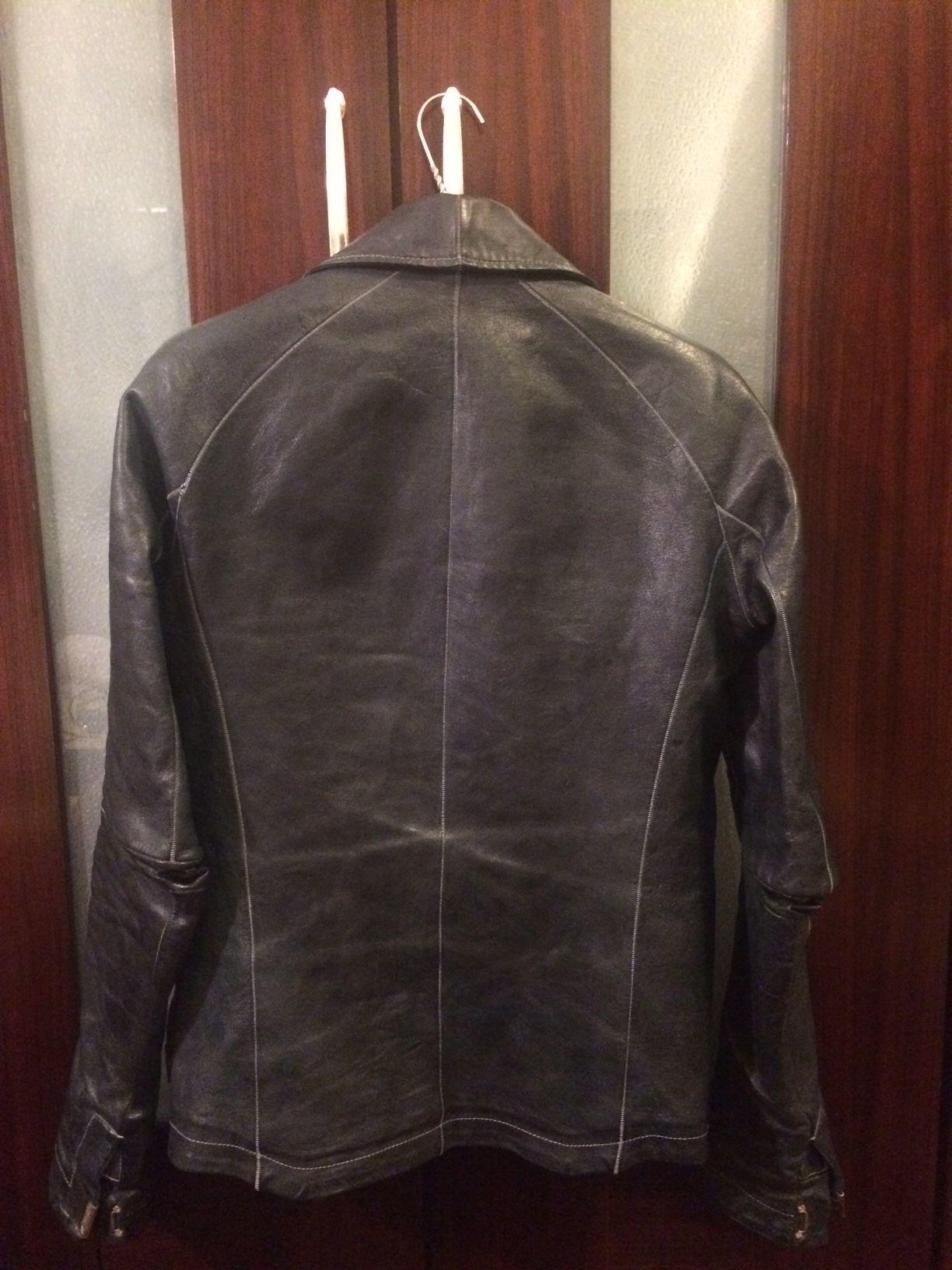 Carol Christian Poell Scarstitch Leather Jacket