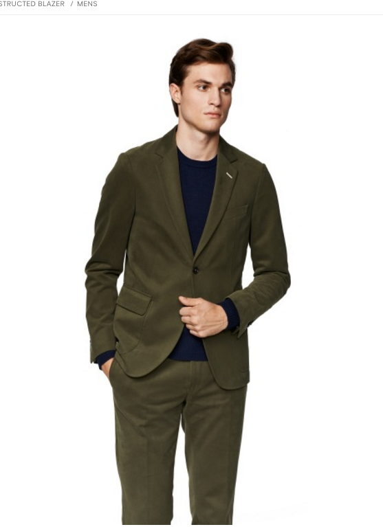 Affordable Custom Cotton Unconstructed Casual Blazer?