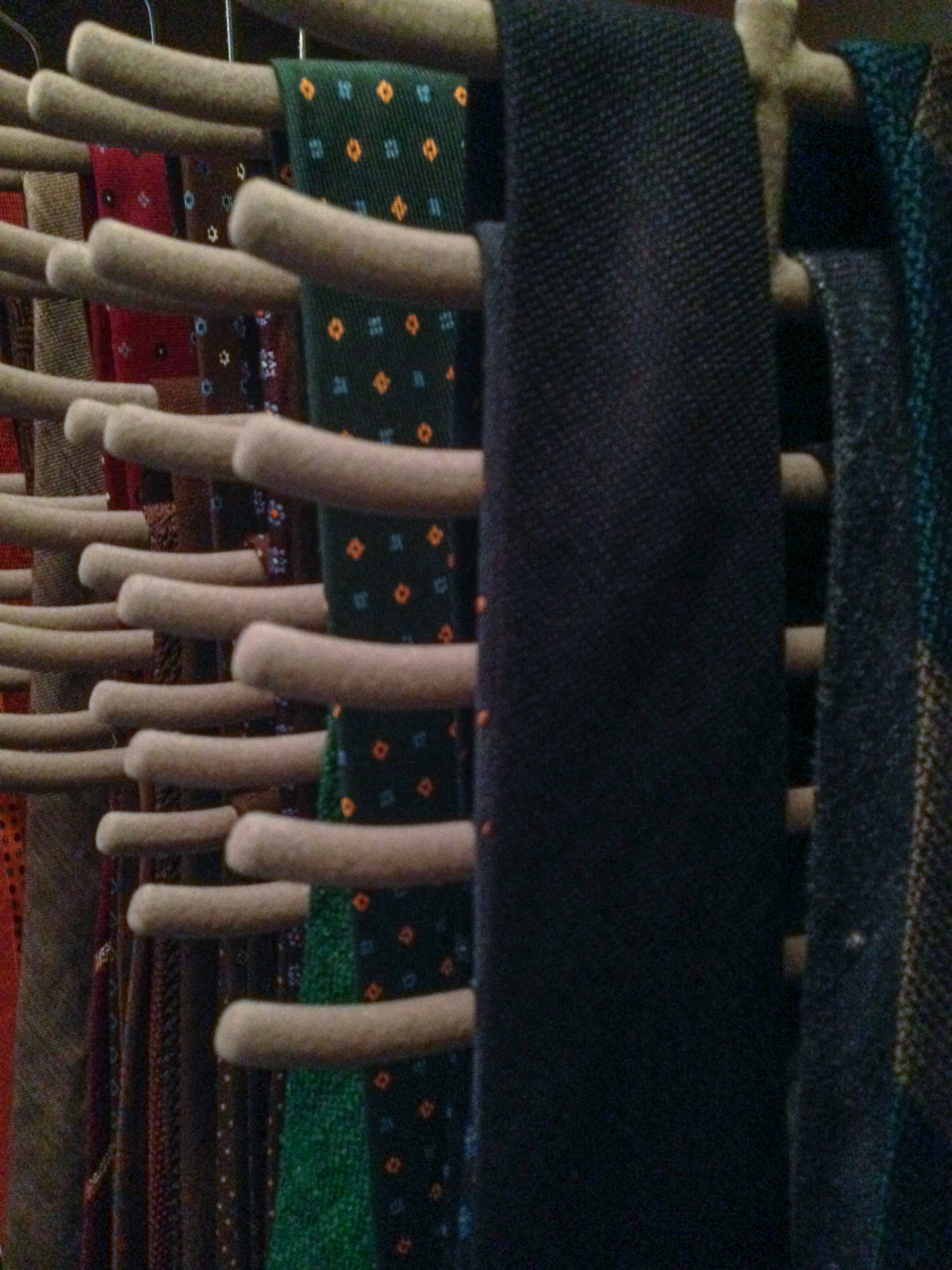Claghorn's photos in How to store ties