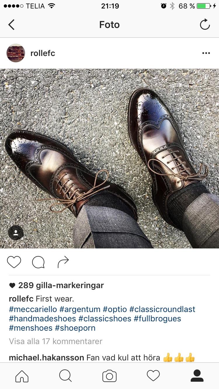 Swede66's photos in Antonio Meccariello Shoes