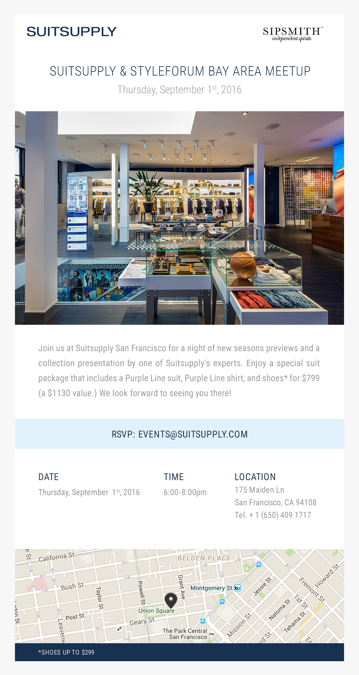 GusW's photos in SF, San Francisco, Bay Area STYLEFORUM MEETUP - Hosted by SUITSUPPLY Sept 1, 6-8pm