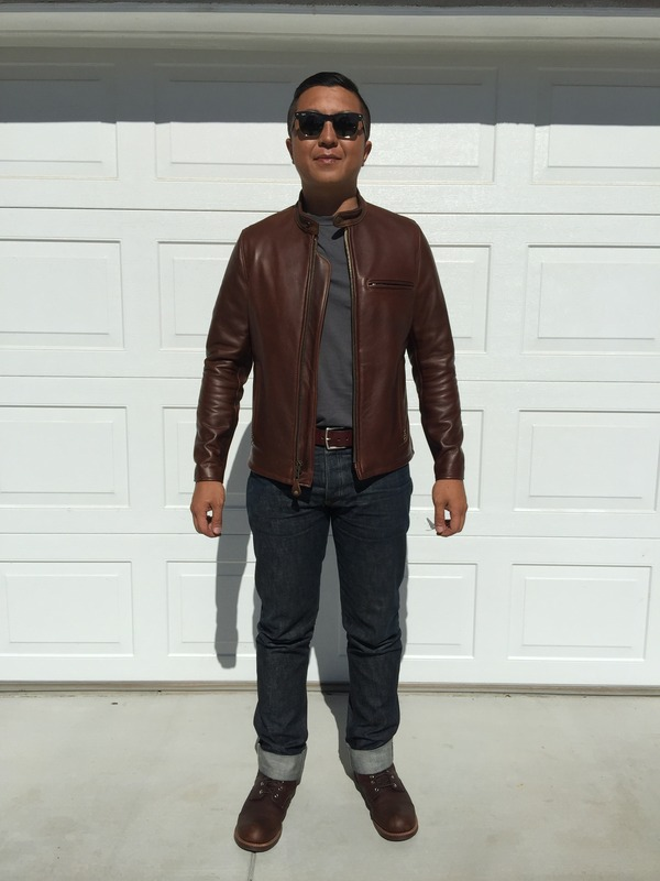 IBJanky's photos in Fit Check on Schott 530 Café Leather Jacket