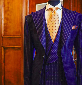 Suit by Royce Redding, he was the featured tailor at our last EDB Cravatta event in May 2016.