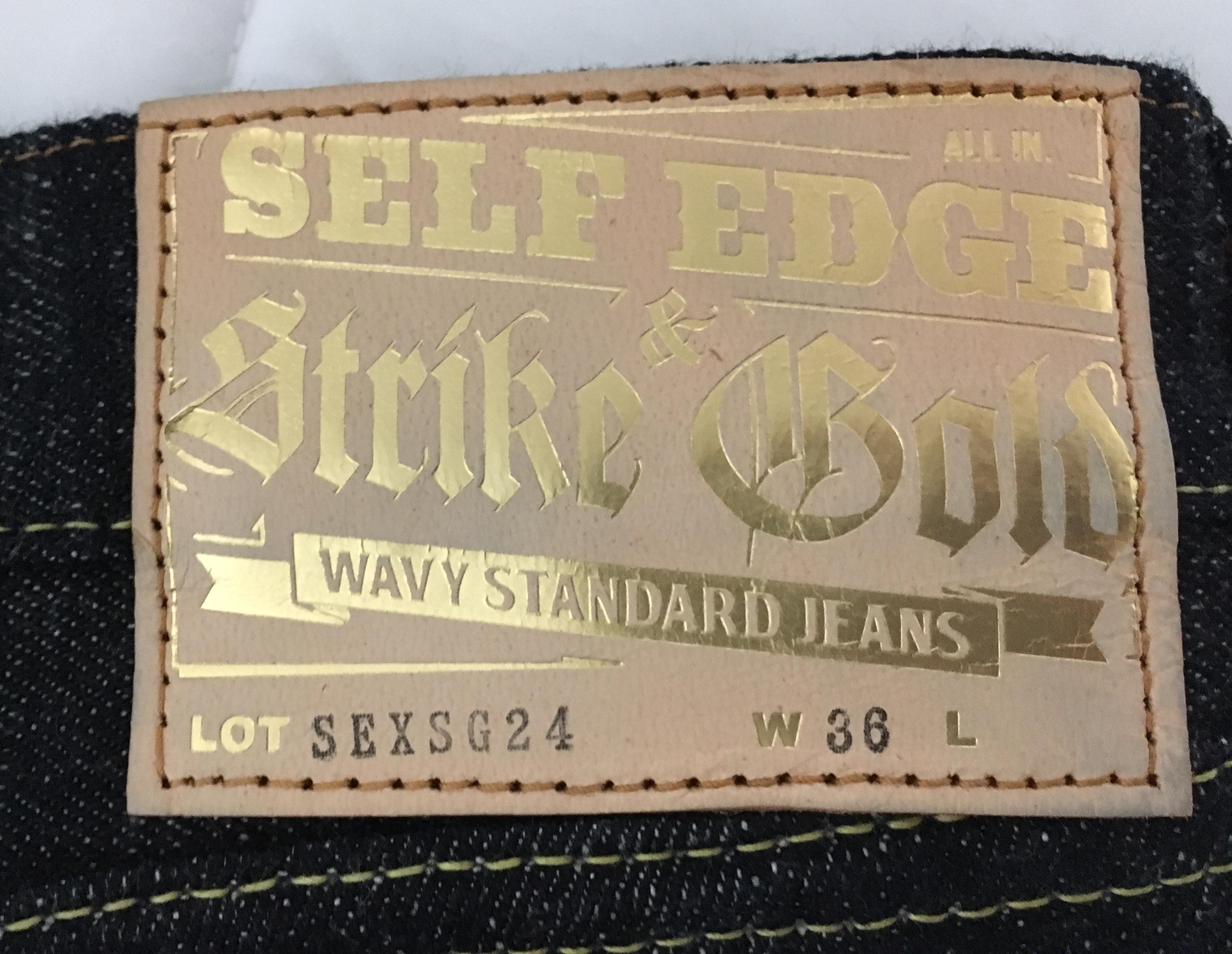 JoeRogan's photos in Self Edge x Strike Gold SEXSG24 Wavy Standard Size 36 (runs small fit 34)