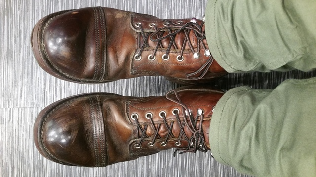 Imyouricecreamman's photos in Red Wing Iron Ranger Boots - what's the dilly yo?