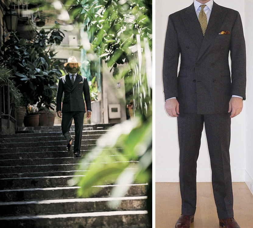 """dieworkwear's photos in Rubinacci """"...Best Bespoke Tailor on Earth..."""" article"""