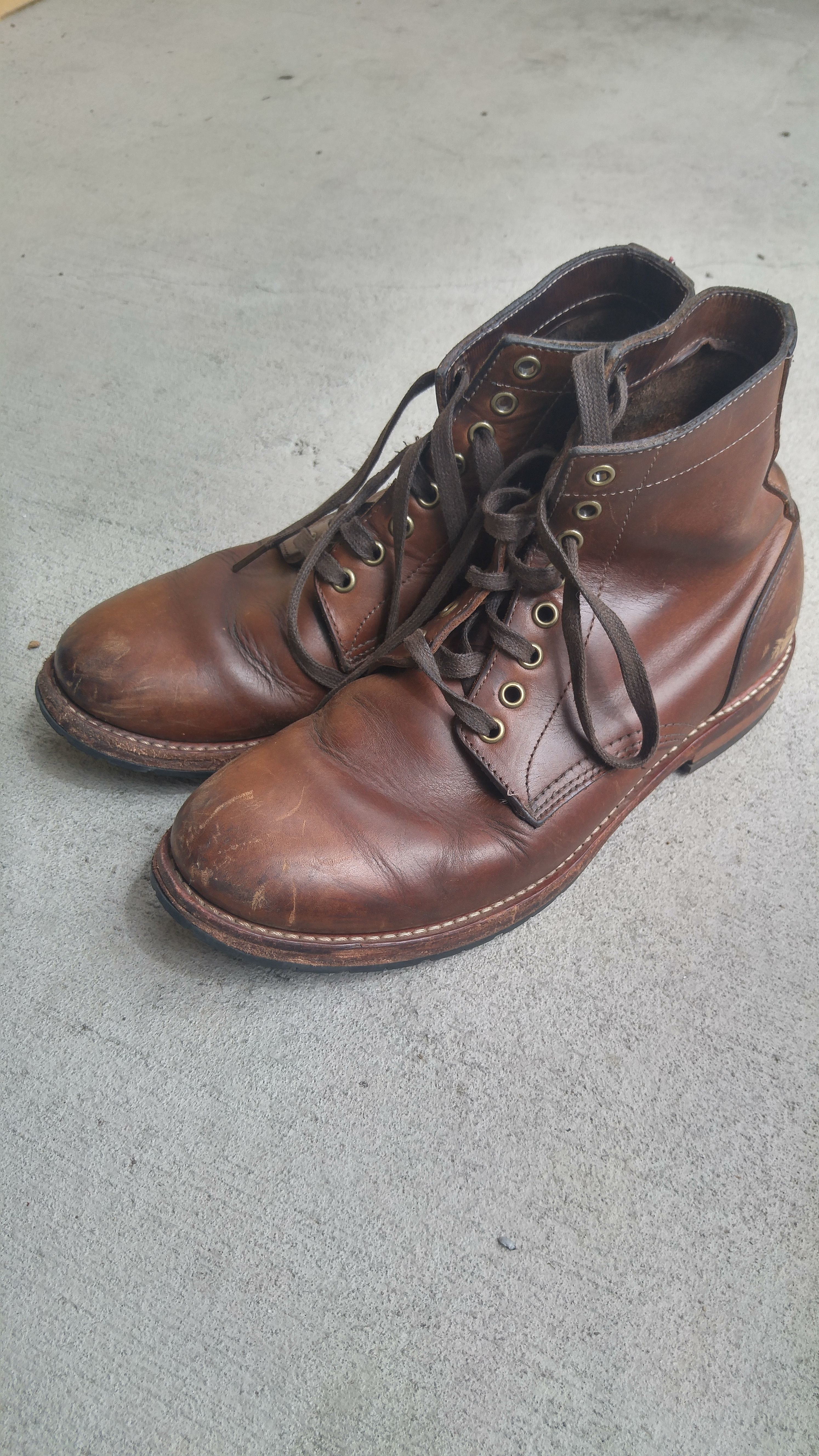 The Existential Dilemma Concerning Boots: Alden 405 Indys vs. Oak Street Trench Boots
