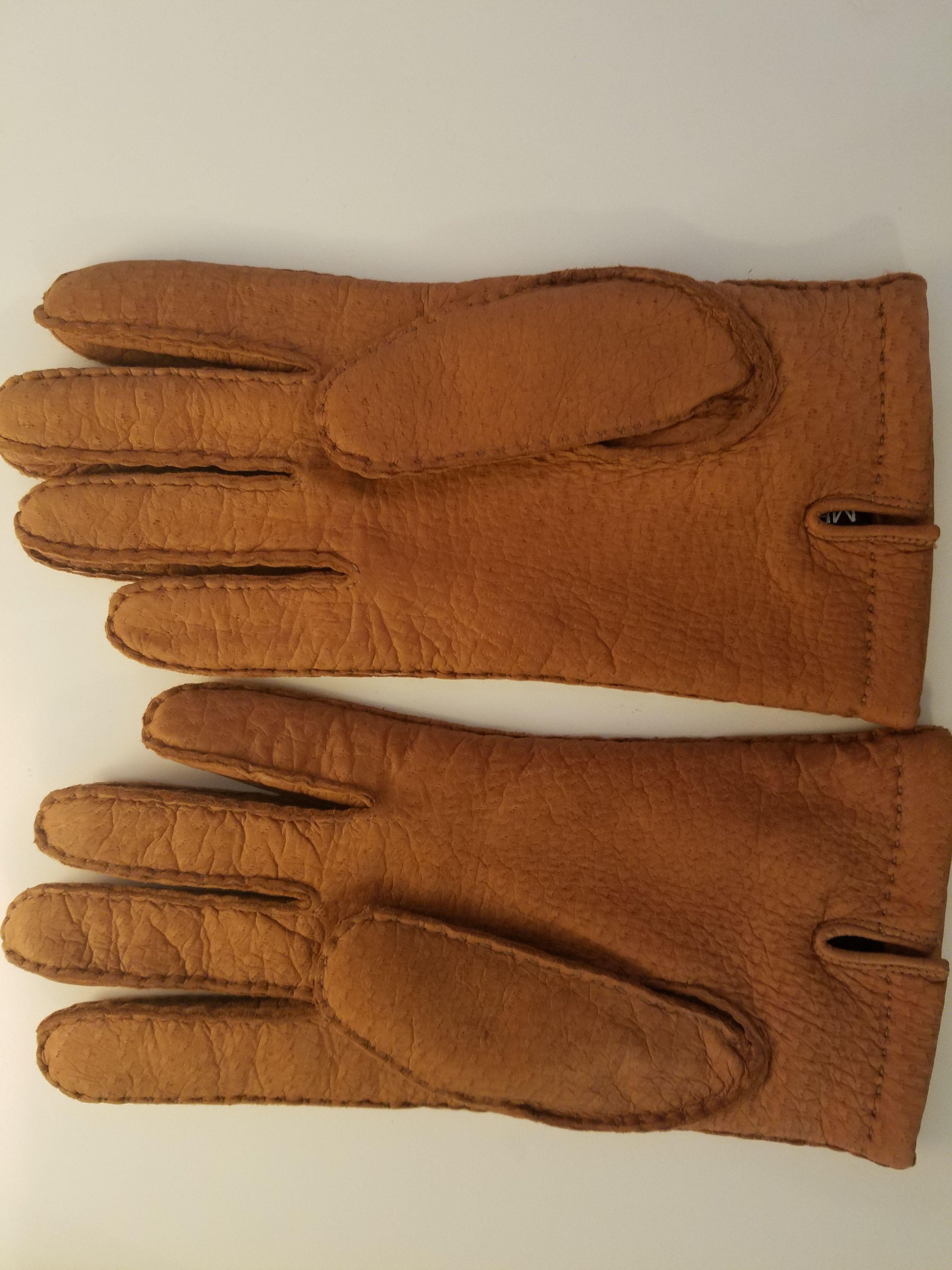 Jmm722's photos in LNIB Merola Peccary Gloves 9