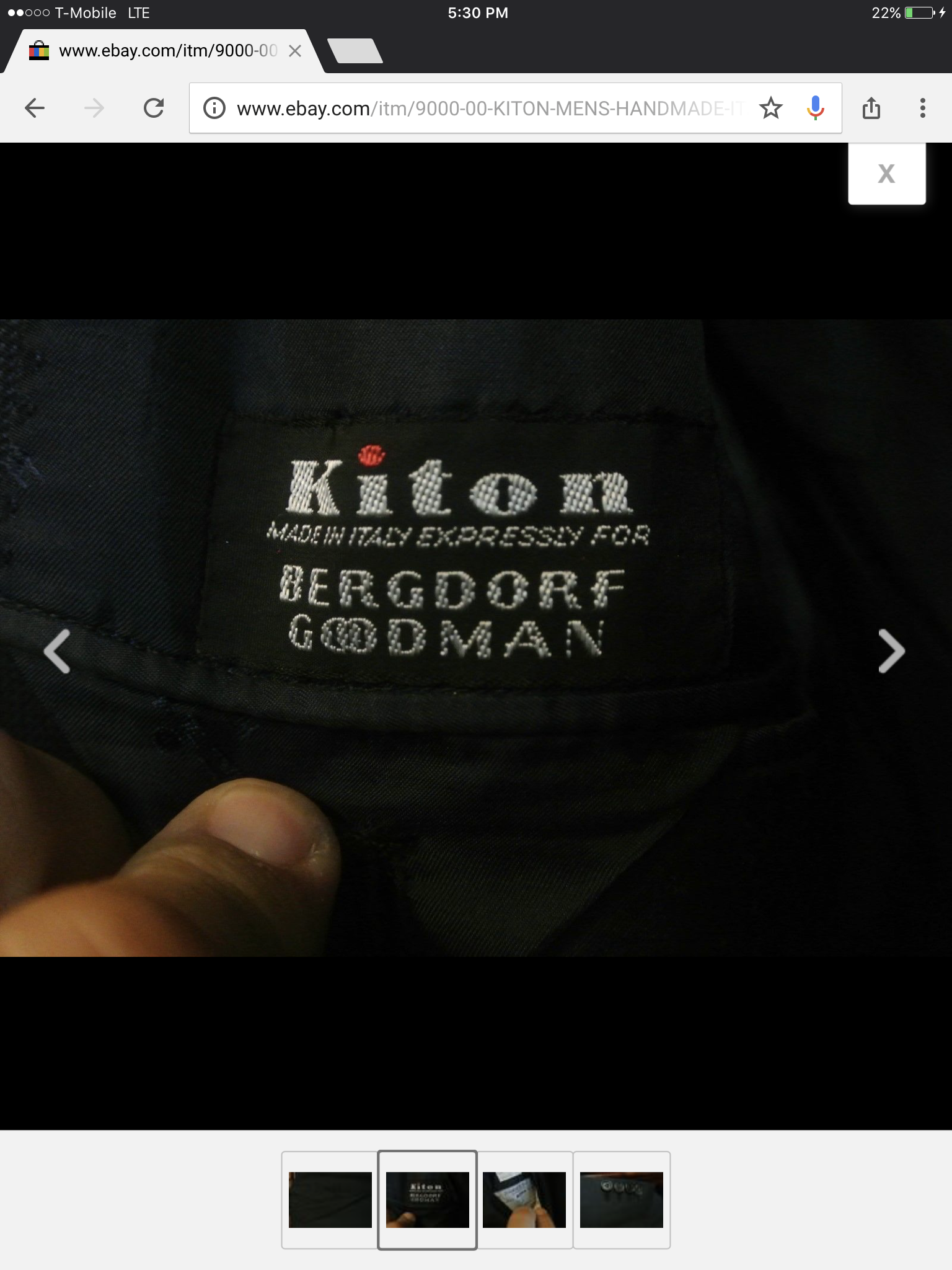 Can someone tell me if  this is a real or fake Kiton Napoli suit please
