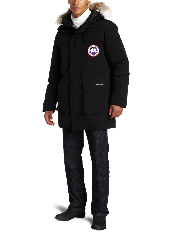 canada goose jacket damage